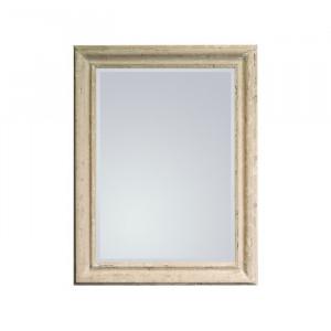 Oglinda Haus am Meer, crem antichizat, 90 x 70 cm