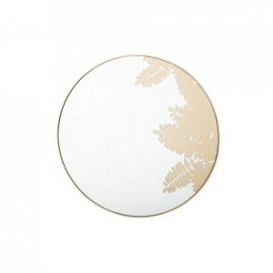 Oglindă Misool, auriu, ø 56 cm