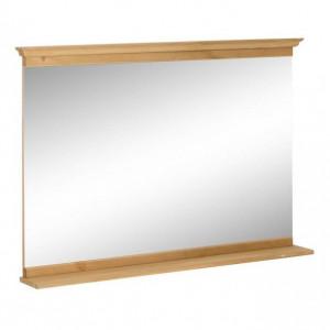 Oglinda pentru baie Home Affaire, cu rama de lemn