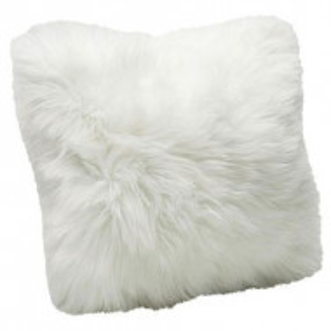 Perna decorativa Fur, 40x40x6 cm
