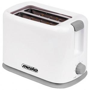Prajitor de paine Mesko MS 3213, 2 felii, 750W, alb