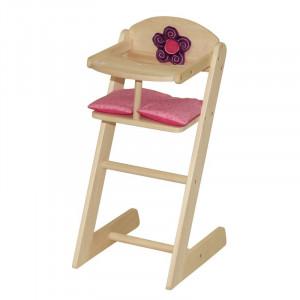 Scaun de copiii Happy Fee, lemn