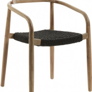 Scaun Nina din lemn masiv, 78 x 56cm