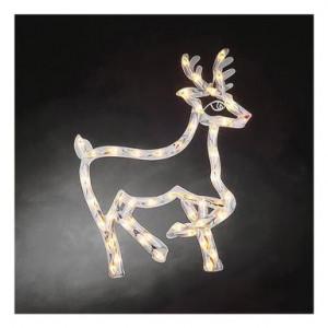 Semn decorativ LED Reindeer