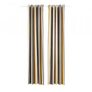 Set de 2 draperii Ashlei, bumbac/poliester, 229 x 183 cm