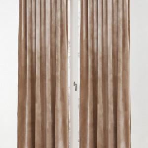 Set de 2 draperii Simone maro, 140x300 cm
