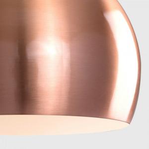 Set de 2 mini abajururi, metalice, 15 x 20 x 20 cm