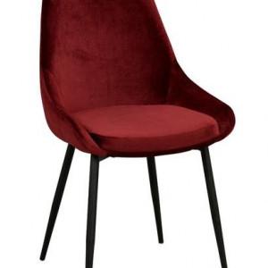 Set de 2 scaune Sierra, rosu, 85 x 55 x 49 cm