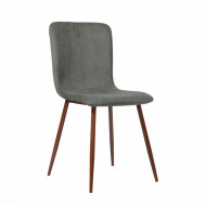 Set de 4 scaune Ahmad, gri, 87 x 54 cm