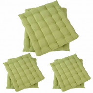 Set de 6 perne pentru scaun, verde
