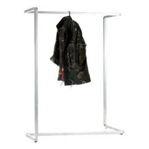 Stand pentru haine Plie din oțel, 120x40x160cm