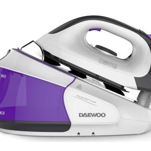 Statie de calcat Daewoo DSG-9545, 2400W, 4 bari, violet / alb