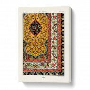 Tablou 'A Floral Persian Pattern', 50 x 35 cm