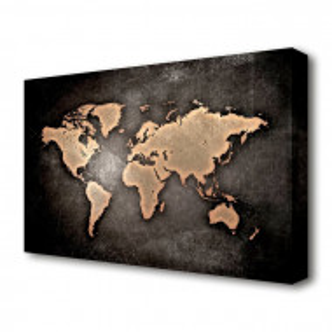 Tablou canvas Harta Lumii