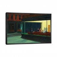 Tablou 'Nighthawks, 1942' by Edward Hopper, 46 x 66 cm