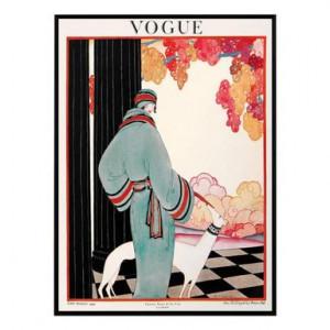 Tablou Vogue Vintage III, 50 x 70 cm