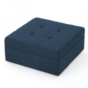 Taburet Ottoman, albastru 79 x 39 cm