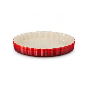 Tava de copt Le Creuset din ceramica, 28 x 4.8cm