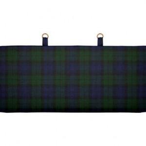 Tetiera tapitata pentru pat Tartan Scottish