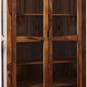 Vitrina Ancona, lemn, maro, 100 x 45 x 195 cm