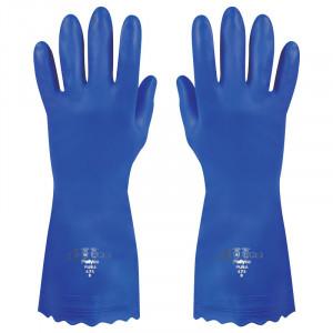 Manusi Polyco Pura PVC, albastre, marimea 7/S