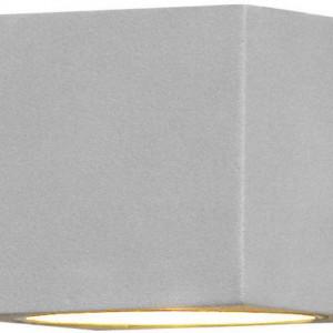 Aplica exterior Modena halogen aluminiu, dreptunghiular, gri, 1 bec, 230 V, 25 W