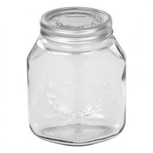 Borcan Leifheit din sticlă pentru conservare