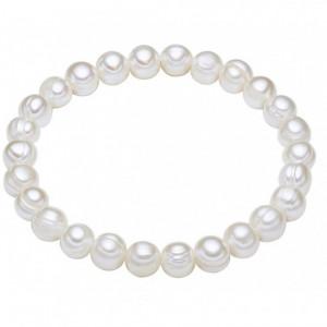Bratara Chakra din perle de cultura 60310060 19cm White