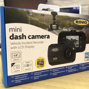 Camera auto Ring RBGDC15 Mini Dash Cam HD Car Journey Recorder Compact , 44 x 66 x 34 mm