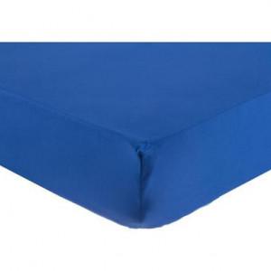 Cearceaf Madras albastru, 170x200 cm