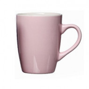 Ceașcă de cafea Arrabella, portelan, roz, 10 x 8 cm, 370 ml