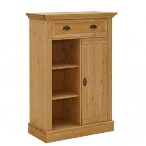Comoda Home Affaire, lemn masiv , 86 x 41 x 122 cm