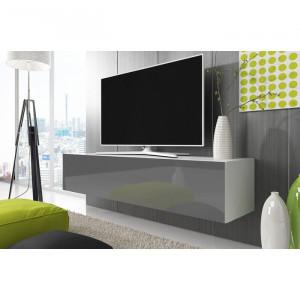 Comoda TV Raul, gri, 100 x 35 x 45 cm