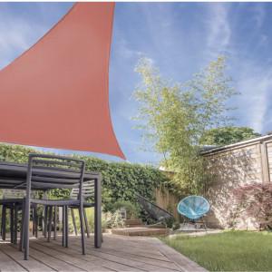 Copertina triunghiulara KARLL , 3,6x3,6x3,6 m, caramiziu