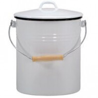 Coș de gunoi cu email de 10 L