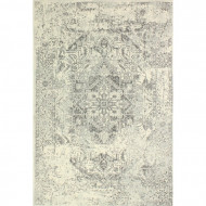 Covor Arlingham, polipropilena, gri, 229 x 290 cm