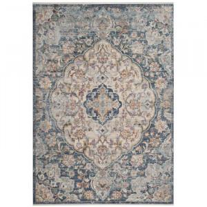 Covor Bachus, albastru deschis/crem, 160 x 230 cm