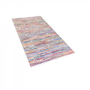 Covor Belen, lucrat manual, multicolor, 80 x 150 cm
