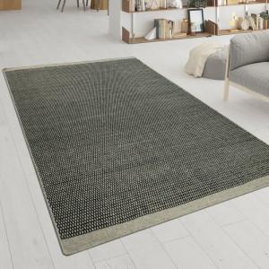 Covor Cavour, lana/bumbac, gri, 240 x 340 cm