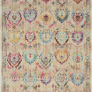 Covor Kashan, polipropilena, multicolor, 120 x 180 cm