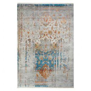 Covor Laos blu/gri, 40x60 cm