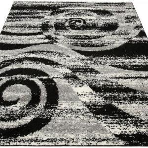 Covor My Home, negru, 60 x 90 cm