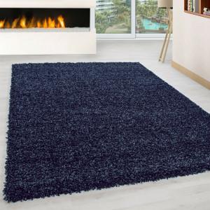 Covor Riam albastru inchis 80 x 150 cm