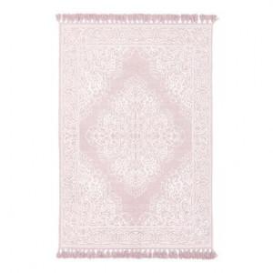 Covor Salima din bumbac, roz, 50x80cm