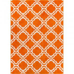 Covor StarBright portocaliu, 150 x 210 cm