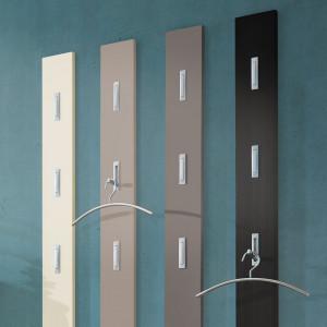Cuier Colorado MDF/aluminiu, vanilie mat, 15 x 170 x 4 cm