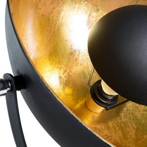 Lampadar THAMES II, metal, auriu/negru, 165 x 53 x 53 cm, 40w