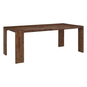Masa Marbella Home Affaire, lemn masiv, maro, 76 x 90 x 180 cm