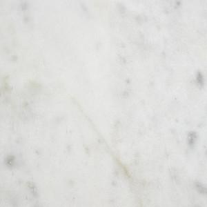 Masuta de cafea Alys cu blat din marmura, alb / auriu