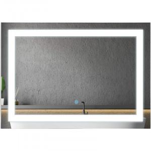Oglindă baie Bober cu LED, 50 x 70 x 1 cm